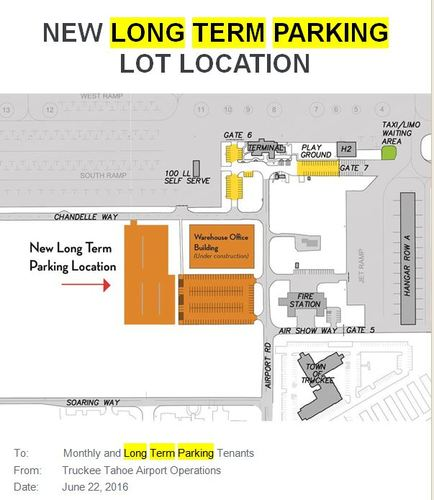 Large long term parking   new lot 2016