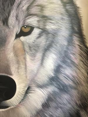 Slider art fall 2016 wolf