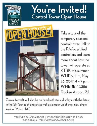 Large toweropenhouse flyer