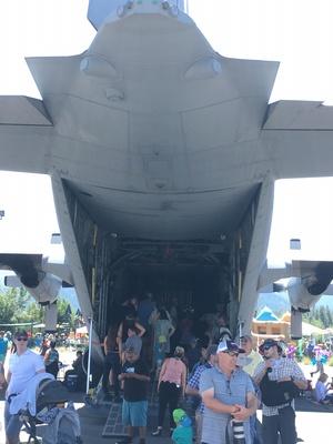 Slider airshow c130
