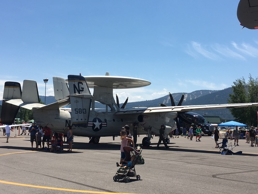 Slider airshow military radar