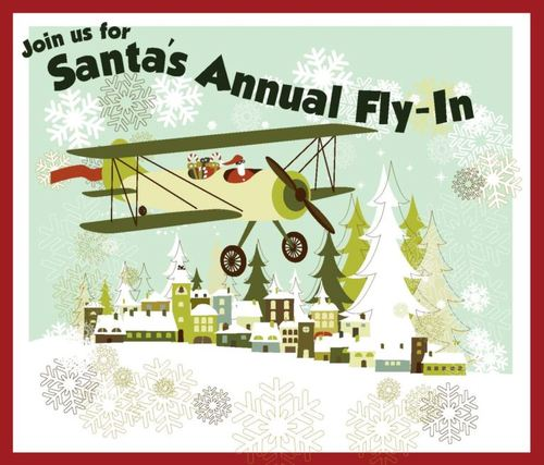 Large santa fly in 2017 pic only